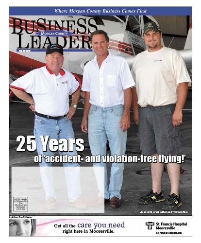 25 Years of 'accident- and violation-free flying!'