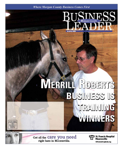 Merrill Roberts business is training winners