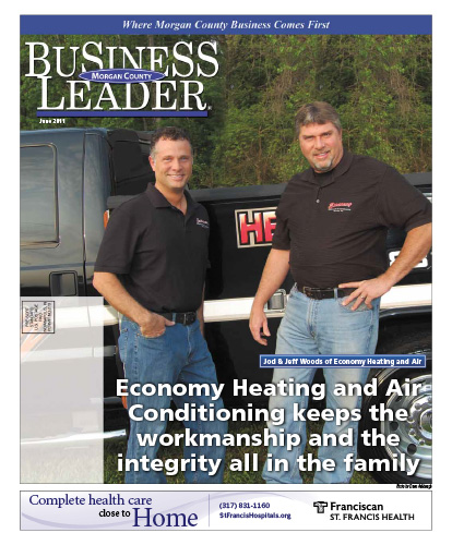 Economy Heating and Air Conditioning keeps the workmanship and the integrity all in the family