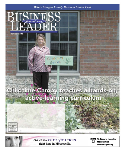 Childtime Camby teaches a handds-on, active-learning curriculum